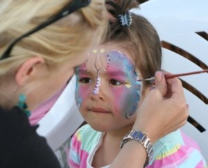 Vancouver face Painting Services